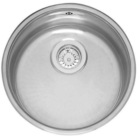 "main image of ""Reginox Comfort Stainless Steel Single Bowl Integrated Kitchen Sink"""