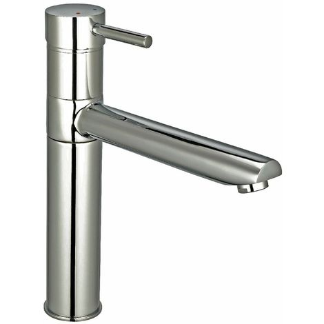 Reginox Hudson Brushed Steel Single Lever Kitchen Mixer Tap