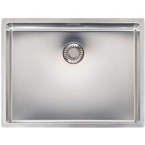 Reginox New Jersey Kitchen Sink Stainless Steel Single Bowl Strainer Waste 50x37