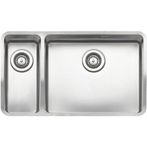 Reginox Ohio Wide Stainless Steel 1.5 Bowl Integrated Kitchen Sink