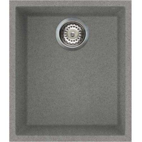 Reginox Quadra 100 Granite Titanium Single Bowl Undermount Sink