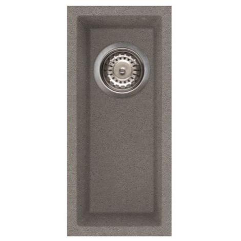 Reginox Quadra 50 Granite Titanium Single Bowl Undermount Sink