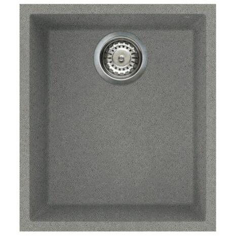 Reginox Quadra100 Granite Undermount 1 Bowl Kitchen Sink Waste