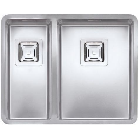 Reginox Texas Stainless Steel 1.5 Bowl Integrated Kitchen Sink