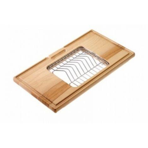 Reginox Wooden Cutting Board incl. Dish Holder