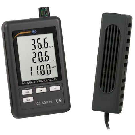 Registrador de CO2, temperatura y humedad PCE-AQD 10