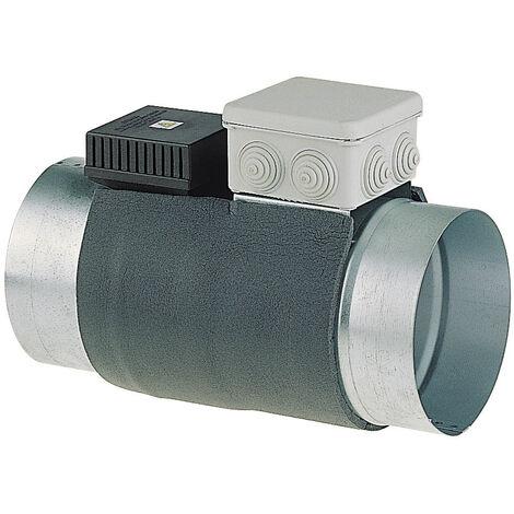 Registre à volet motorisé + thermostat de régulation Verso 200 Ø200