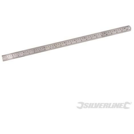 Regla de acero (600 mm)