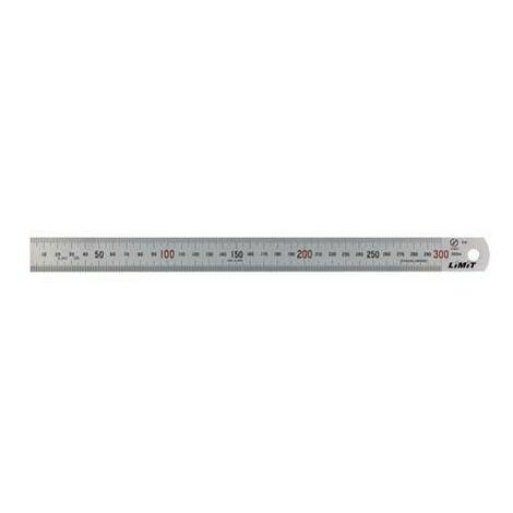 Regla de acero inox. 3.000 mm LIMIT