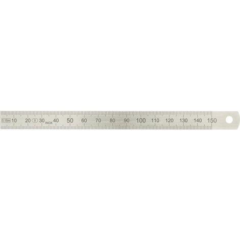 Regla graduada Acero plegable 300x15x0,5mm EC