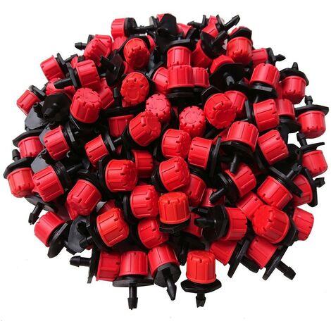 Réglable goutteur Rouge 0-49 l / h Variflow. 100 unités