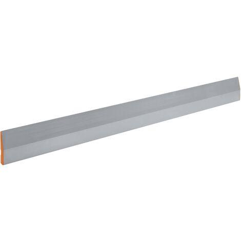 Règle à lisser trapézoïdale Longueur 1200 mm avec rainure pour les doigts/capuchon de aluminium