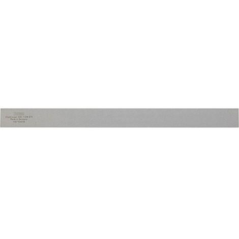 Règle de contrôle en acier, DIN 874/1, Long. : 3000 mm, Larg. : 100 mm, Epaisseur 16 mm