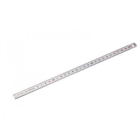 Réglet flexible inox gradué recto verso 300x13x0.5 mm KSTOOLS - 300.0104