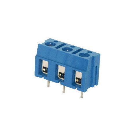 Regleta de 2 terminales espaciados 7.5 mm Electro DH. Para circuito impreso 10.852/7/2 8430552108480