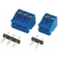 Regleta de conexión Electro DH 10.876/2 para circuito impreso 2 Terminales 5 mm 8430552091980