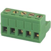 Regleta de conexión hembra para circuito impreso 7 Contactos Color Verde Electro DH 10.880/F/7 8430552092130