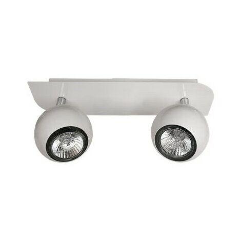 Regleta de techo Dalí (2 luces)