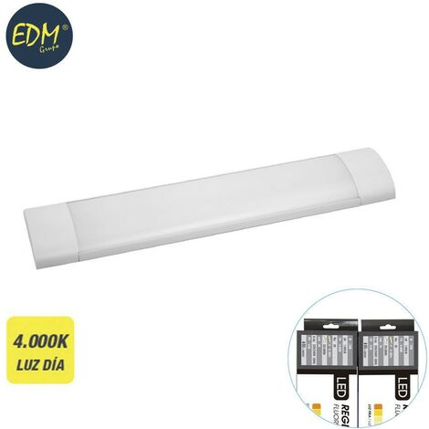Regleta electronica led 48w 150cm 4.000k luz dia 4700 lumens edm