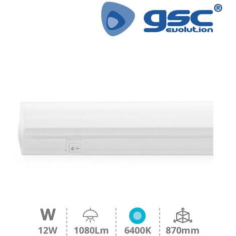 Regleta electronica LED T5 870mm 12W 6400K GSC 001705379