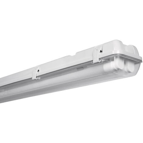 Regleta estanca con tubo Led Osram 2x20W 4000K 1565mm. IP65 (Osram 4052899398368)