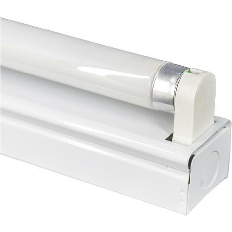 Regleta Fluorescente 1x18W Tubo T8 G13 1300lm 4000K 7hSevenOn