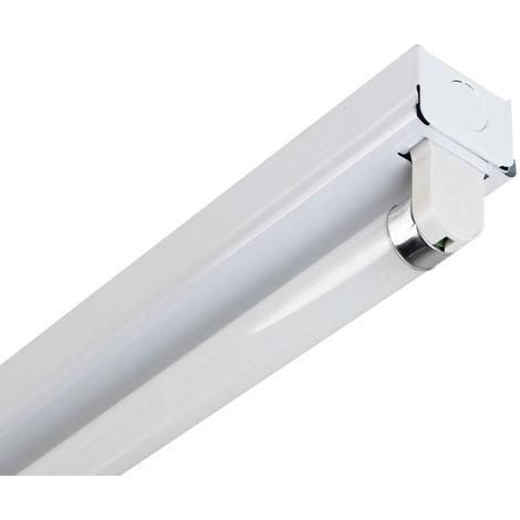Regleta Fluorescente 1x36W Tubo T8 G13 2100lm 4000K 7hSevenOn