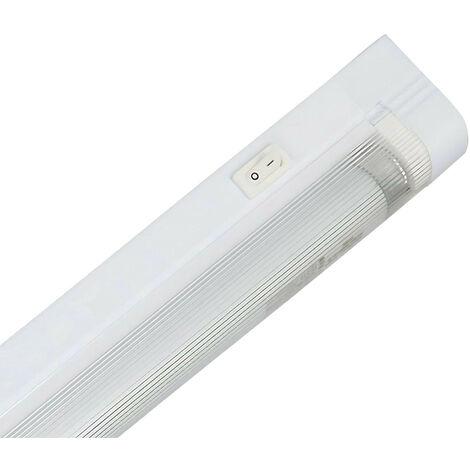 Regleta Fluorescente Tubo T5 G5 1x14W 970lm 6000K 7hSevenOn