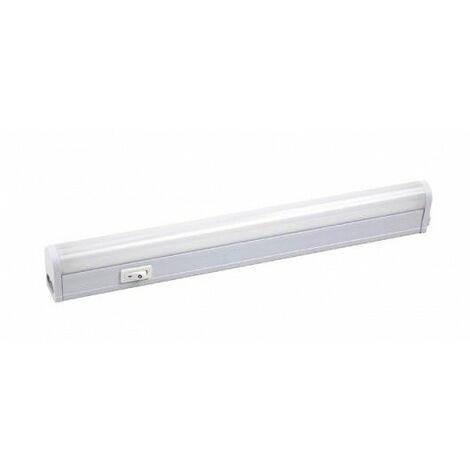 Regleta Iluminacion 18W 1550Lm 6400K Ip20 113X3X3,5Cm Edm Alu Bl