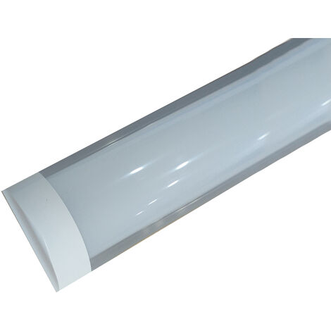 Regleta Led de superficie extraplana 36W 6000°K 1200mm. (Led Hispania TRLH120W36B)
