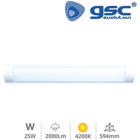 Regleta LED electronica T8 Liben 25W 4200K