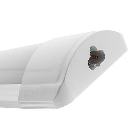 Regleta LED SlimLine 600 mm 20W Enlazable Blanco Neutro 4000K   IluminaShop