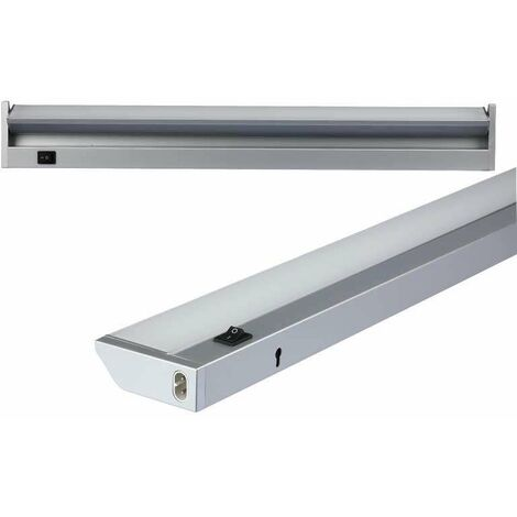 Regleta orientable LED 10W 110° 60cm Temperatura de color - 4500K Blanco natural