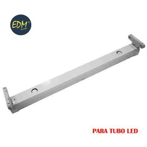 Regleta para tubo de led eq 2x58w 153cm edm