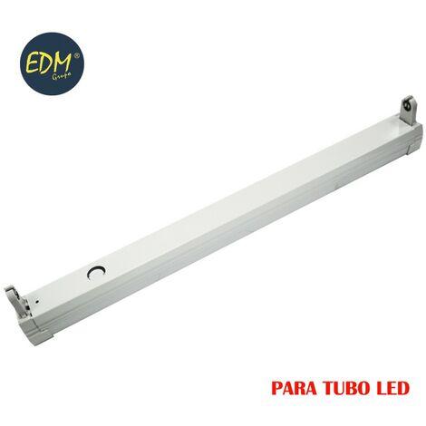 REGLETA PARA TUBO LED EQ.36W 123CM EDM