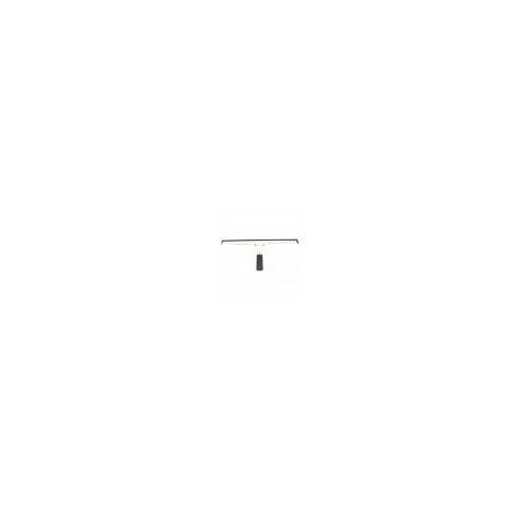 Regleta raqueta limpia vidrios - lunas - cristales profesional con soporte 35 cm. Uso manual compatible con Pértiga.