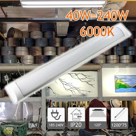 Regleta Slim de 1200 mm 40W 6000K