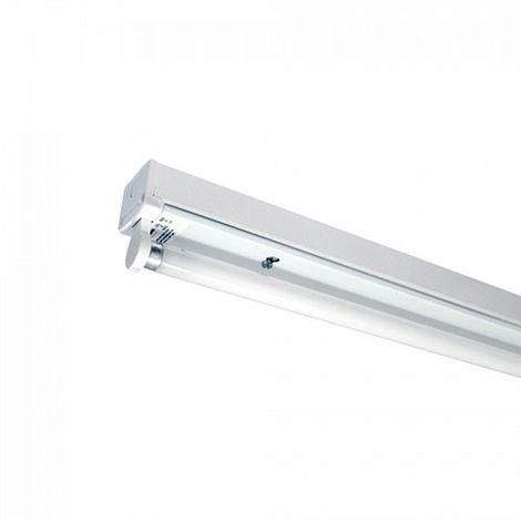 "main image of ""Regleta tubo led 1x150cm conexión un extremo IP20"""