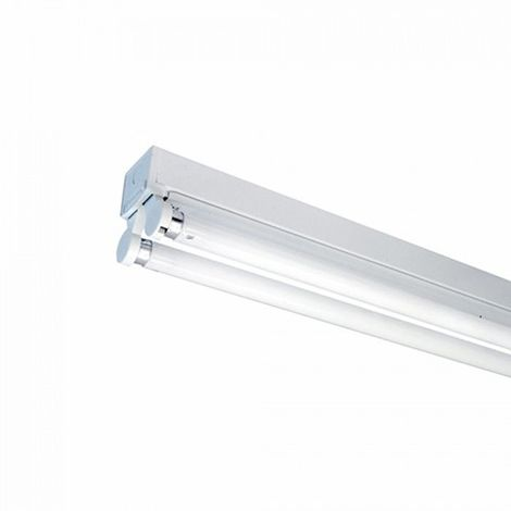 "main image of ""Regleta tubo led 2x120cm conexión un extremo IP20"""