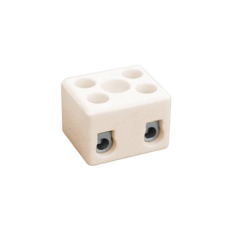 Regletas de conexión cerámica de 2 polo Electro DH 10.735/2 8430552061297