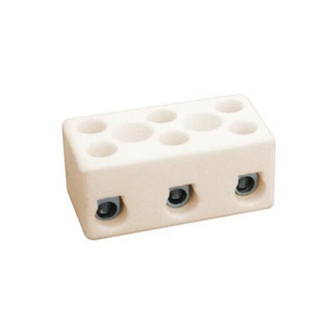 Regletas de conexión cerámica de 3 polos Electro DH 10.735/3 8430552061303