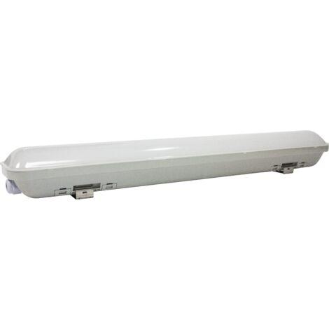 REGLETTE 150CM ETANCHE LED SMD 65W 7000LM AVEC DETECTEUR DE PRESENCE HAISEN - Blanc
