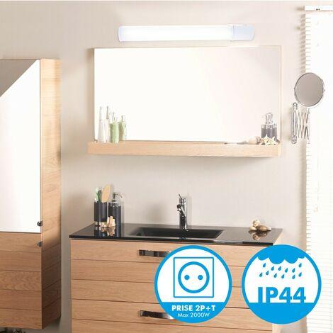 Réglette applique salle de bain LED 8W 900Lm avec Prise - MA7796