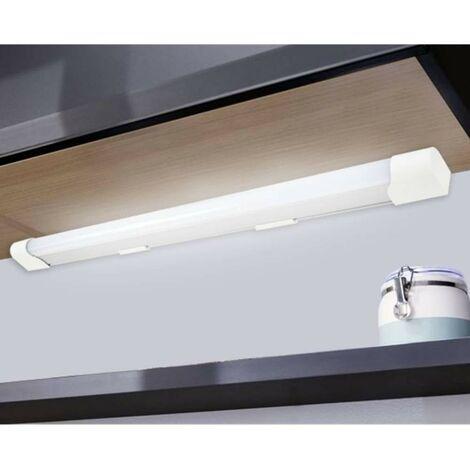 Réglette applique salle de bain Luminaire Tube LED 10W sous meuble