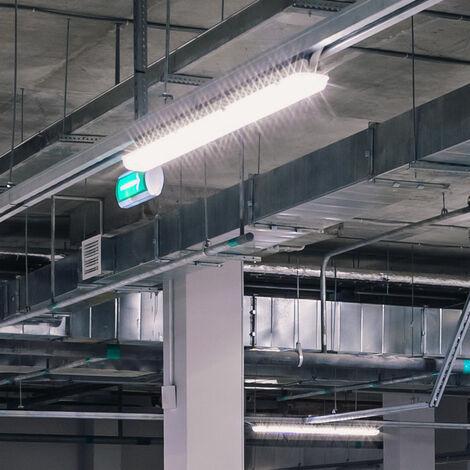 Réglette Avec 2 Tubes LED 150cm 2x22W Inclus Ip65 Vt-12022