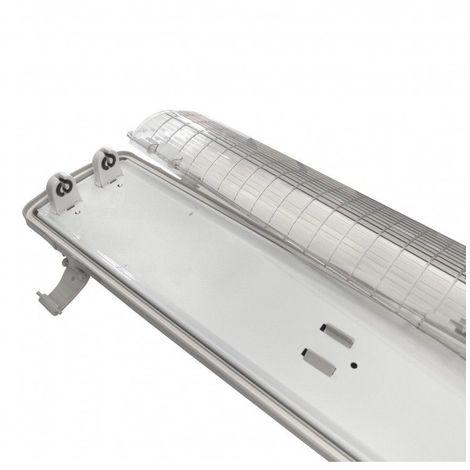 - Réglette - Boitier Tube LED T8 Double Etanche 1200 mm