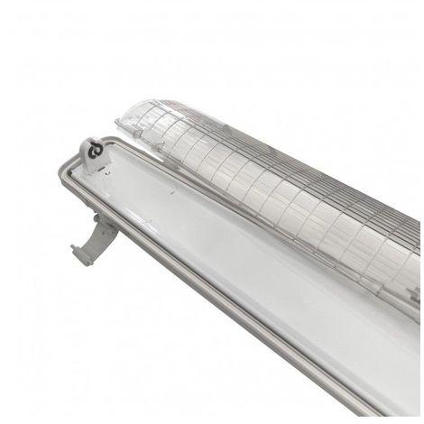 Réglette / boitier tube LED T8 simple - Étanche - 1200 mm
