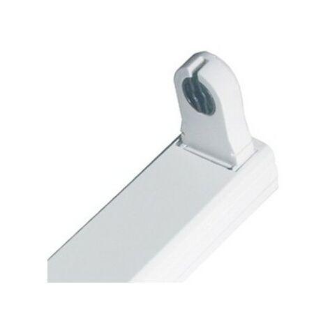 - Réglette - Boitier Tube LED T8 Simple Non Etanche 600 mm