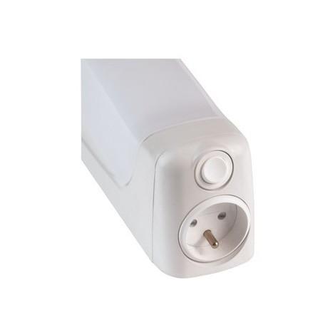 Réglette Fluo Thalasso 17 pour salle d\'eau - S19 - 13W - IP21 - Avec  ampoule - Non dimmable