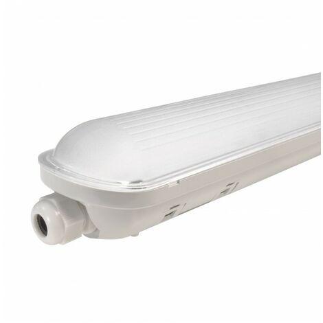 Réglette Intégrée LED NOVA - 1480 mm - 55 W - Étanche IP 65 - Blanc Pur - DeliTech®